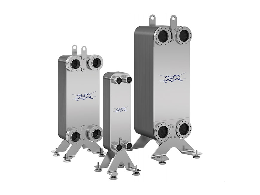 The plate heat exchanger Alfalaval